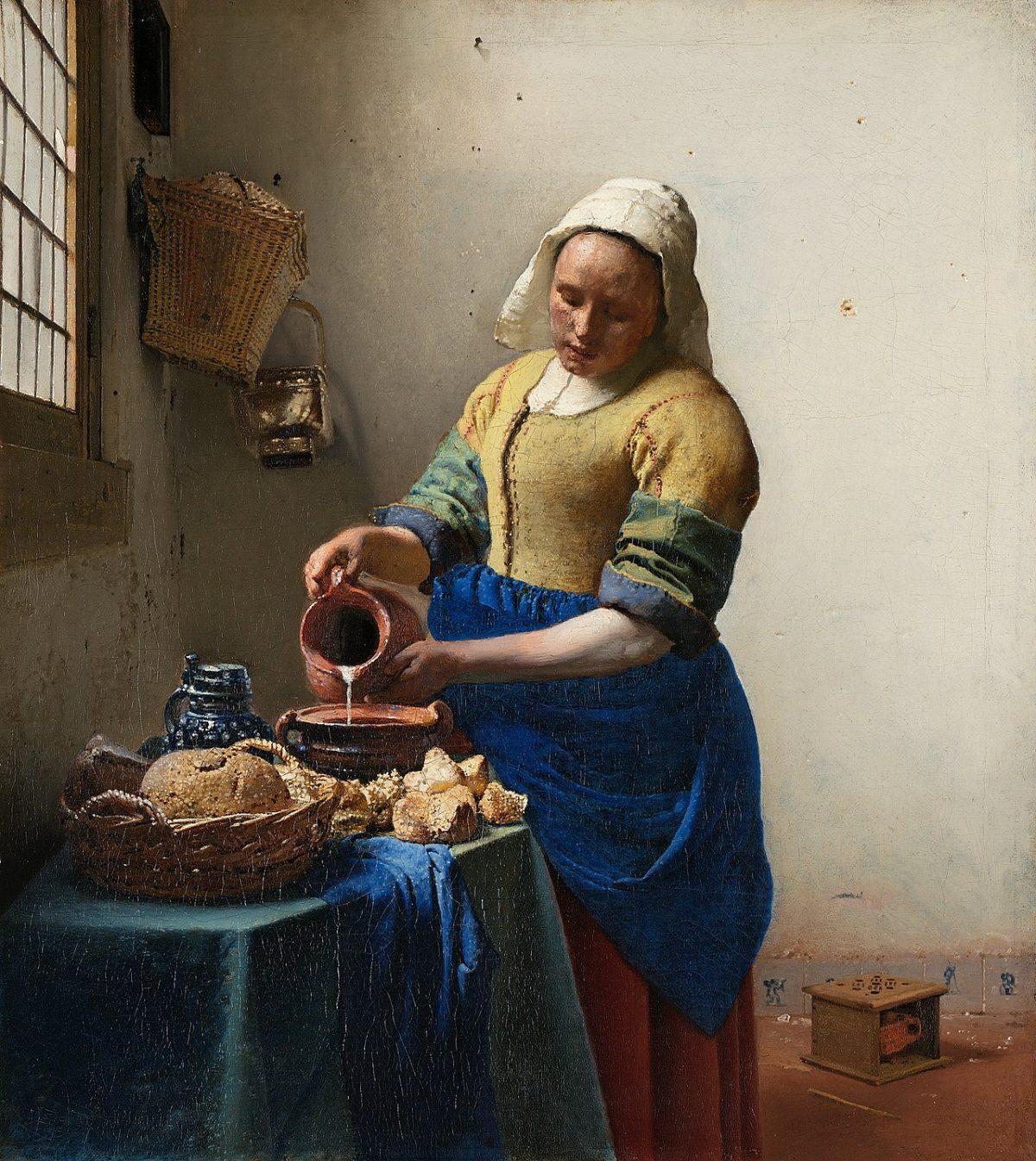 زن شیرفروش - ورمیر