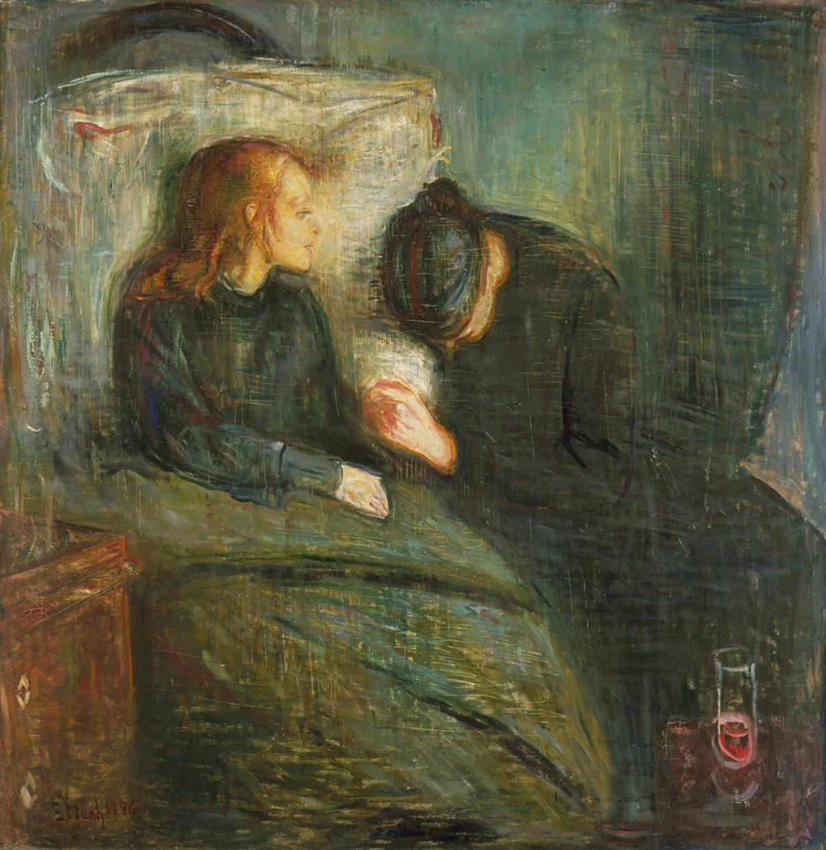 ادوارد مونک کودک بیمار