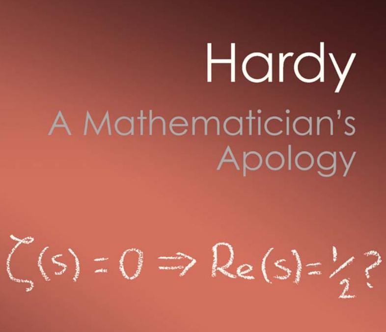 هاردی عذرخواهی یک ریاضیدان